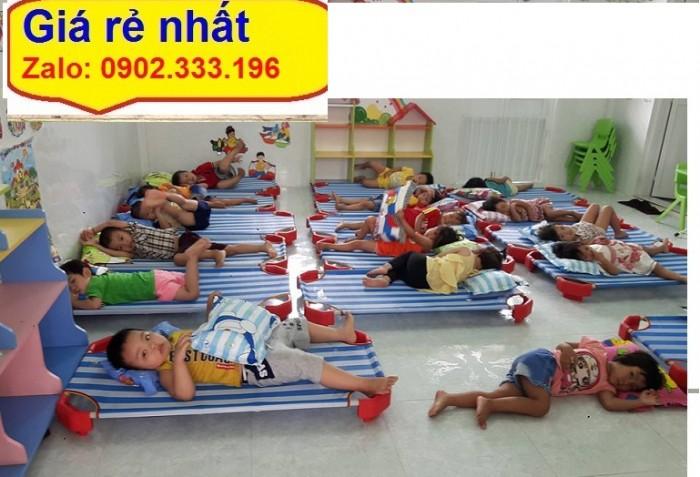 Nơi chuyên bán giường ngủ mầm non, giường ngủ mẫu giáo giá rẻ nhất