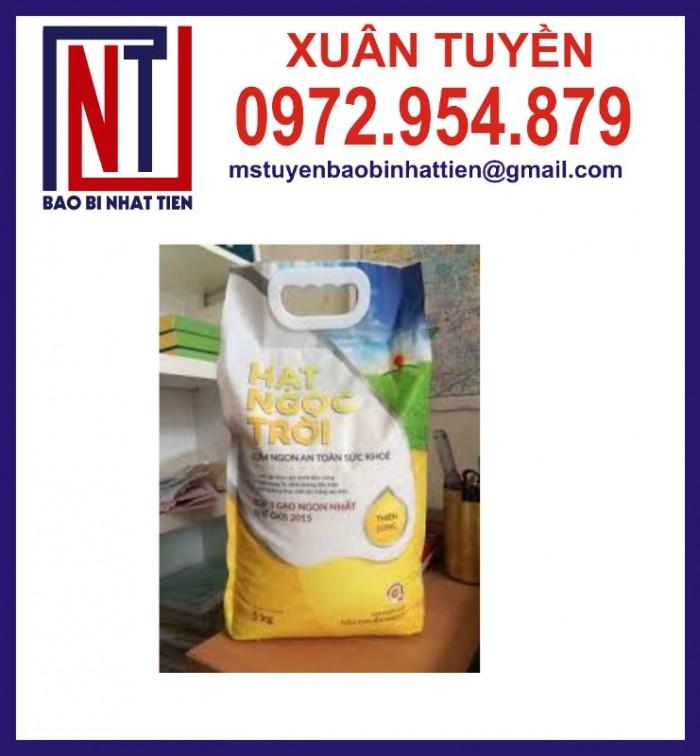 Chuyên cung cấp in ấn túi gạo 5kg PA.PE2