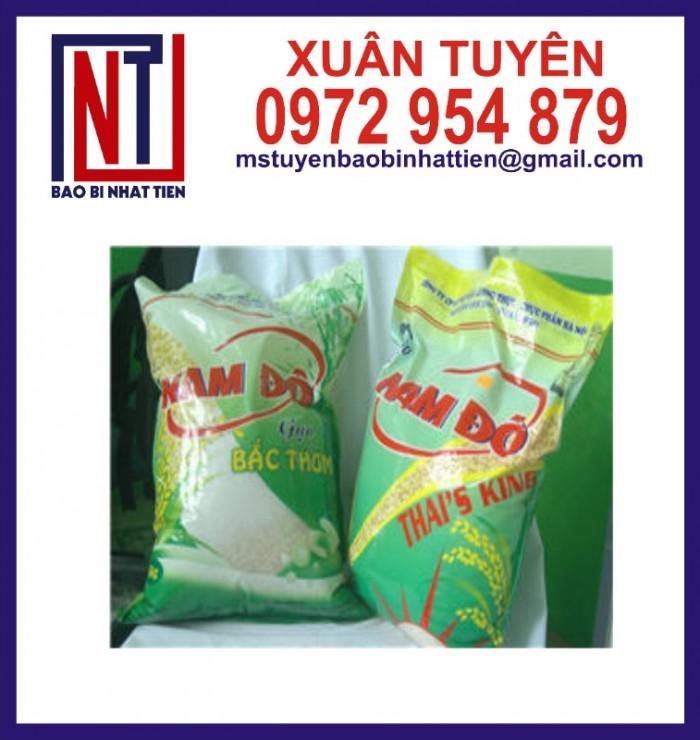 Chuyên cung cấp in ấn túi gạo 5kg PA.PE4