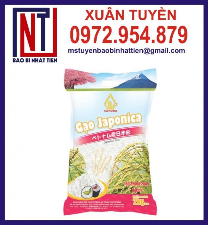 Chuyên cung cấp in ấn túi gạo 5kg PA.PE7