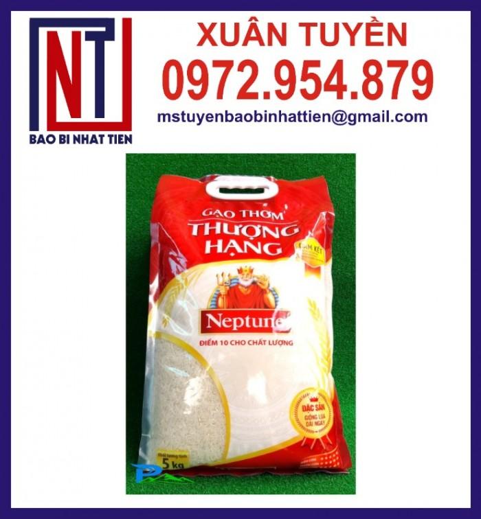 Chuyên cung cấp in ấn túi gạo 5kg PA.PE9