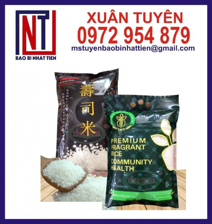 Chuyên cung cấp in ấn túi gạo 5kg PA.PE10