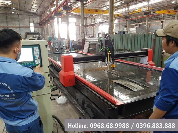 Máy cắt CNC Plasma   Máy cắt sắt   Máy plasma giá rẻ2