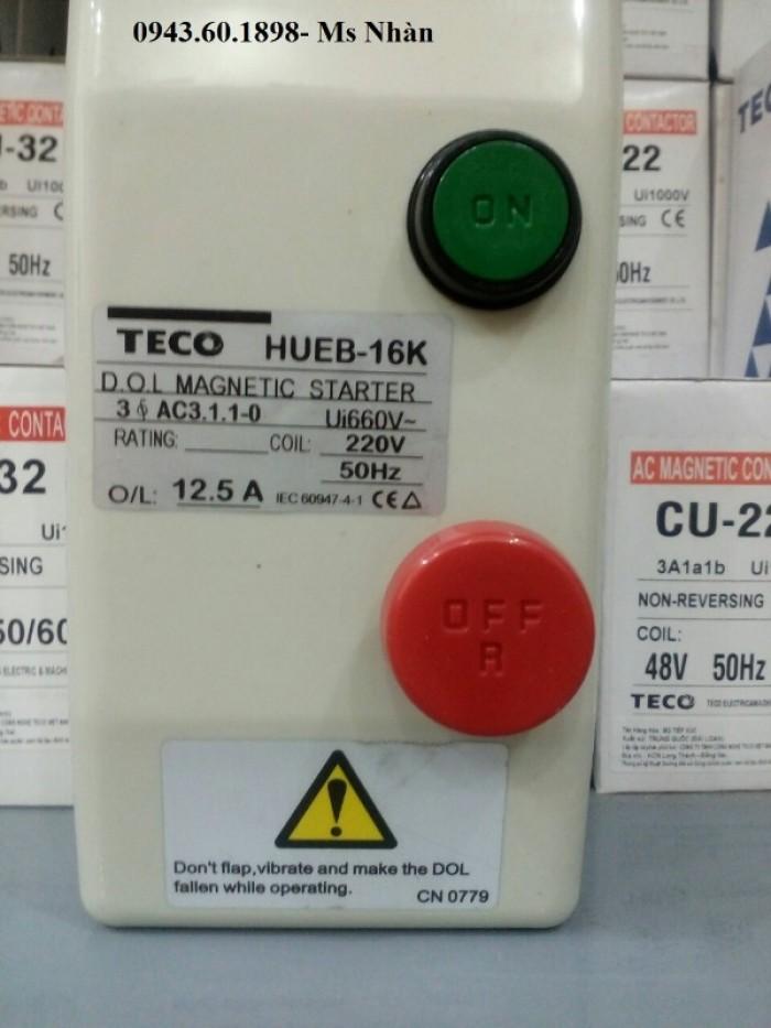 Contactor hộp Teco HUEB 11K3