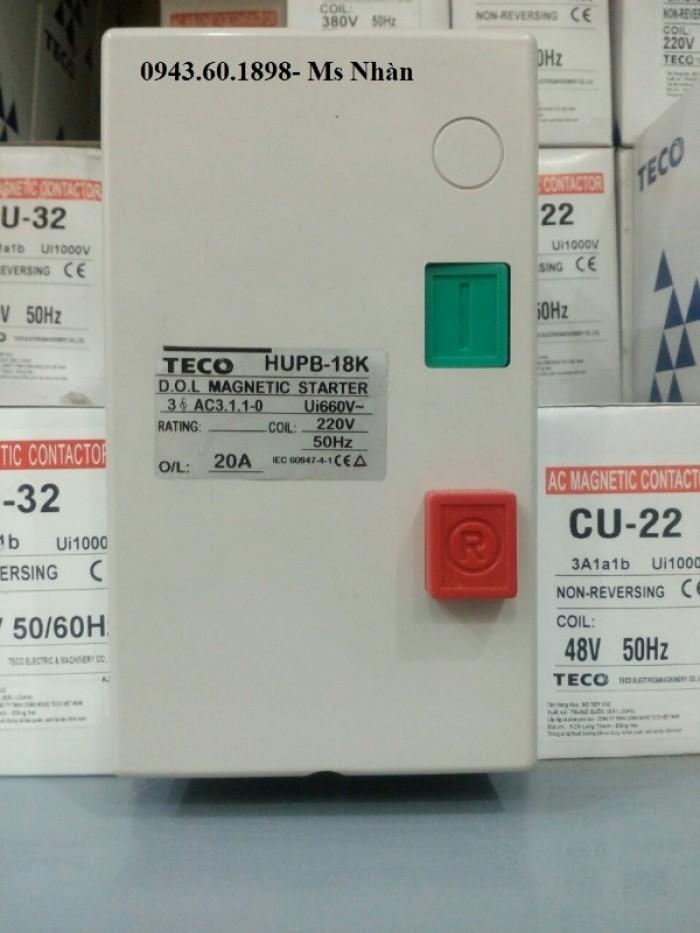 Contactor hộp Teco HUEB 11K4