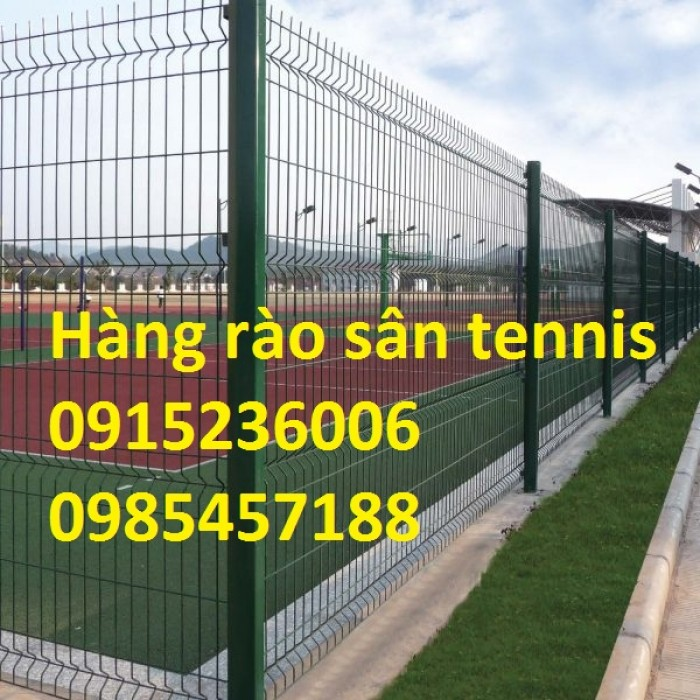 Sản Xuất Hàng rào sân Tennis, hàng rào sơn tĩnh điện, hàng rào mạ kẽm3