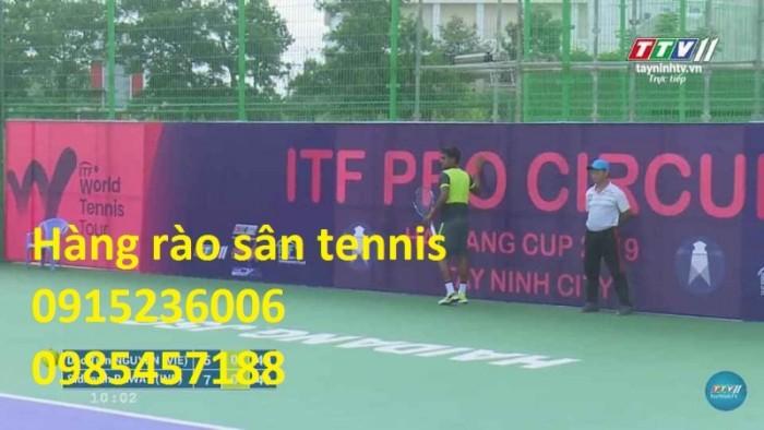 Sản Xuất Hàng rào sân Tennis, hàng rào sơn tĩnh điện, hàng rào mạ kẽm1