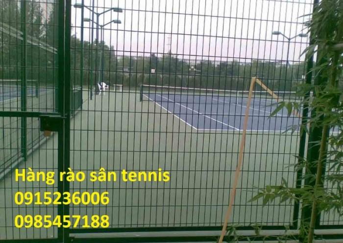 Sản Xuất Hàng rào sân Tennis, hàng rào sơn tĩnh điện, hàng rào mạ kẽm2