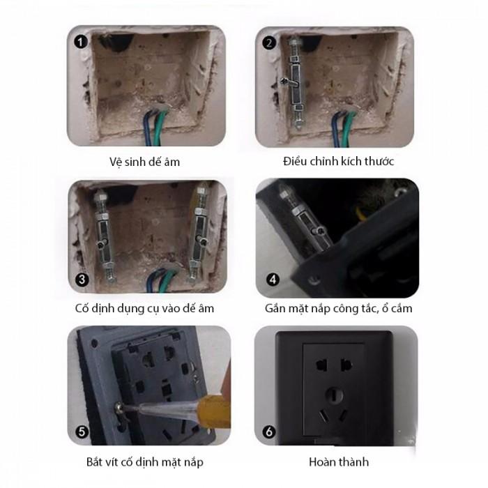 Dụng cụ sửa chữa đế âm vỡ CNBV5
