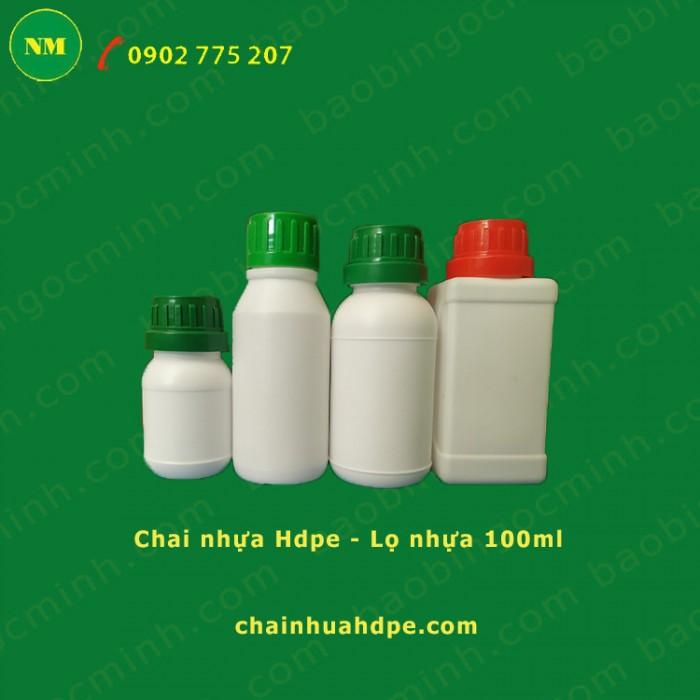 chai nhựa hdpe 50ml, 100ml tròn6