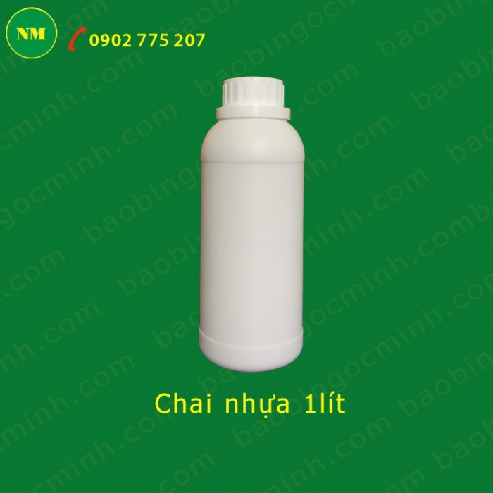 chai nhựa 1 lít đựng hóa chất11