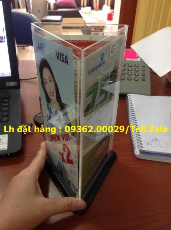 Cung cấp sản phẩm kệ xoay đựng tờ rơi, kệ mica đựng catalog, giấy tờ17