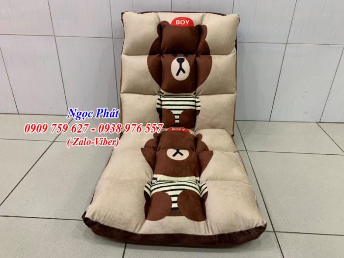 Ghế lười tựa lưng. Ghế bệt kiểu Nhật. Ghế tatami. Ngọc Phát6