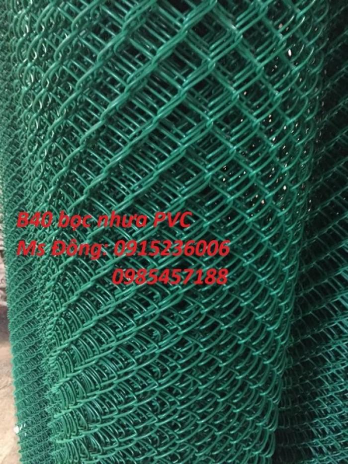 Lưới B40 bọc nhựa Khổ 1m, 1,2m, 1,5m, 1,8m, 2m, 2,2m1