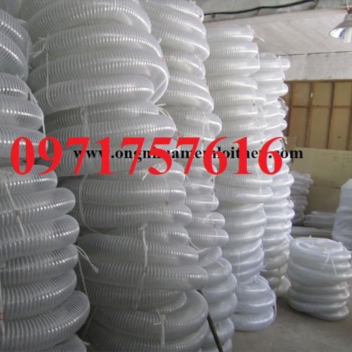 Ống hút bụi gân nhựa công nghiệp giá rẻ1