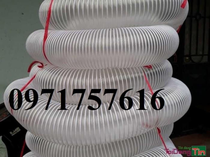 Ống hút bụi gân nhựa công nghiệp giá rẻ3