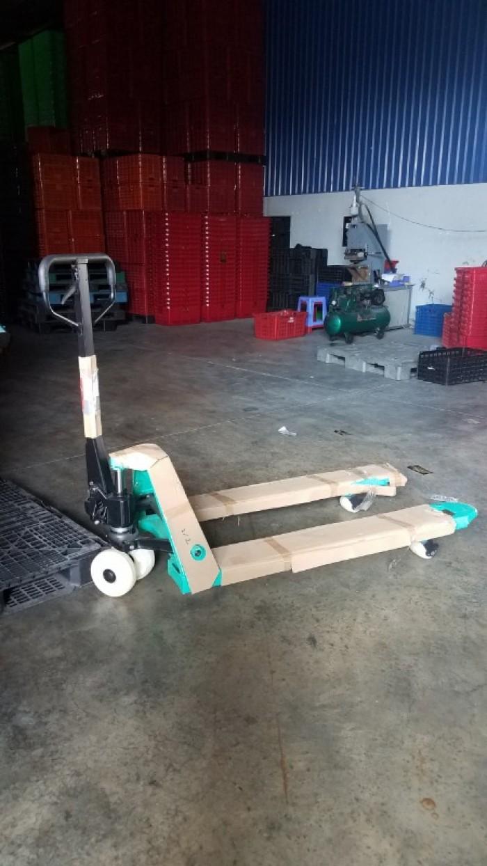 Xe nâng tay thấp Mitsulift 2,5 tấn giá rẻ2