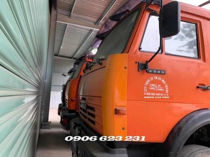 Bán 5 tải thùng Kamaz 4 giò đăng kí  2017 & 2018