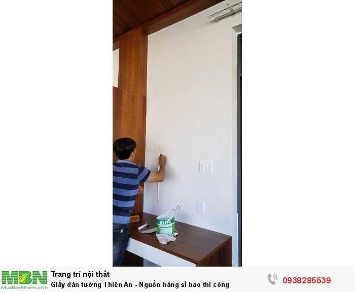 Giấy dán tường Thiên An - Nguồn hàng sỉ bao thi công3