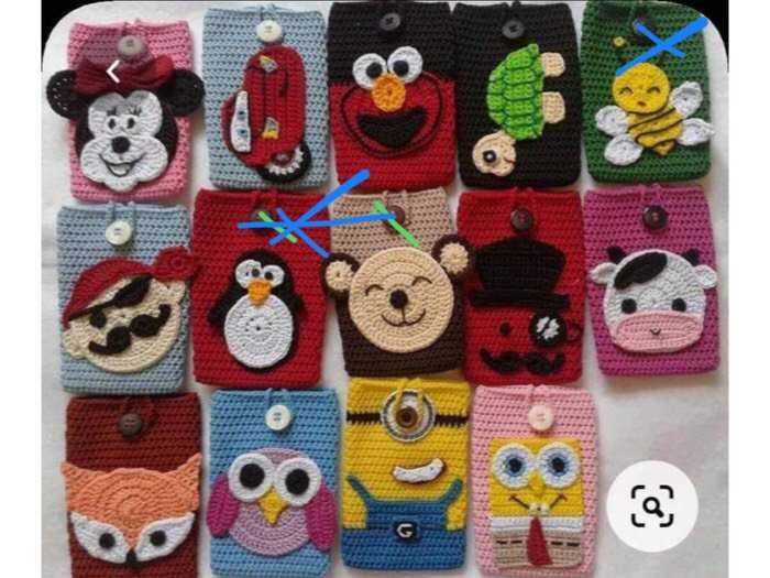 Túi điện thoại handmade0