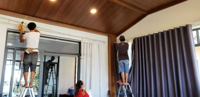 rèm cửa 2 lớp chống nắng | Trang trí Nội thất Thiên An | Email: nguyendanh.decor@yahoo.com | Hotline:09382855395