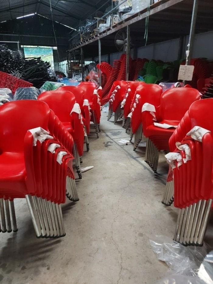 Xả kho thanh lý lô ghế nhựa đúc nhiều màu nhiều mẫu mã4