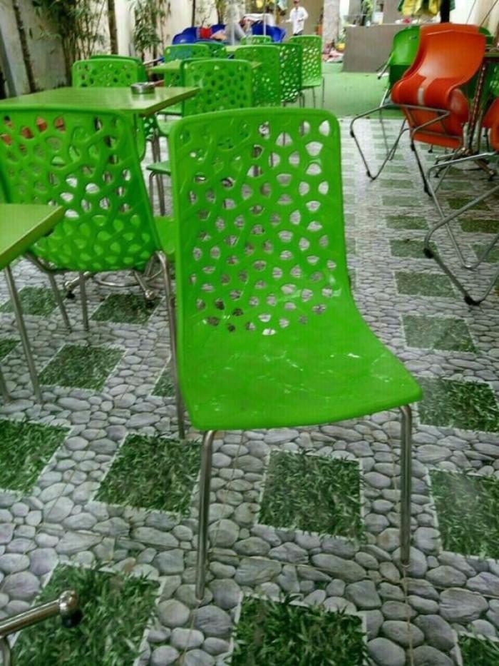 Xả kho thanh lý lô ghế nhựa đúc nhiều màu nhiều mẫu mã5