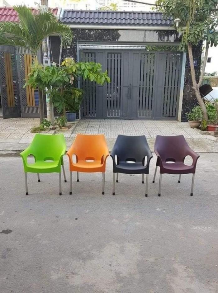 Xả kho thanh lý lô ghế nhựa đúc nhiều màu nhiều mẫu mã6