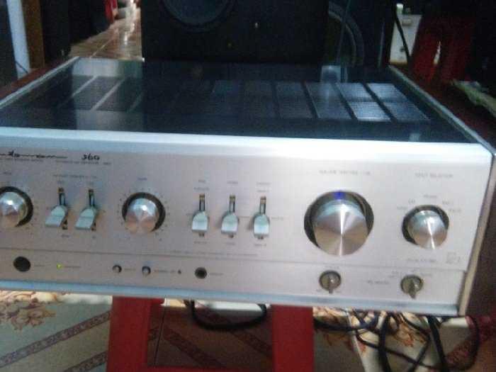 Amply Luxman 360, 250w, 30kg, amply Đèn0
