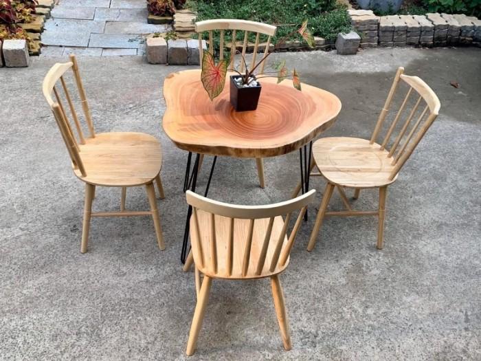 Bàn ghế gỗ nhiều màu dùng cho các cafê,nhà hàng,quán ăn,bar,resort…2