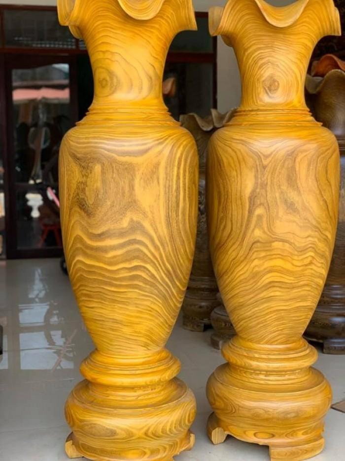 Lục Bình Gỗ Cẩm Vàng