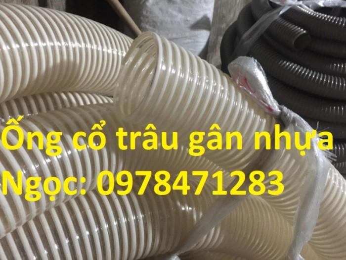 Ống gân nhựa trắng phi 100,phi 120,phi 150 hút hạt, hút bụi hàng sẵn giá rẻ2