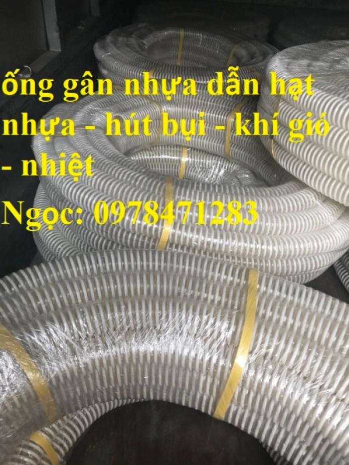Ống gân nhựa trắng phi 100,phi 120,phi 150 hút hạt, hút bụi hàng sẵn giá rẻ6