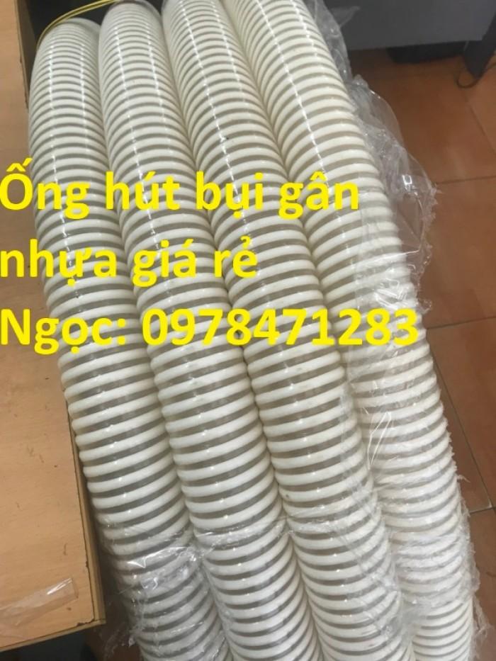 Ống gân nhựa trắng phi 100,phi 120,phi 150 hút hạt, hút bụi hàng sẵn giá rẻ7