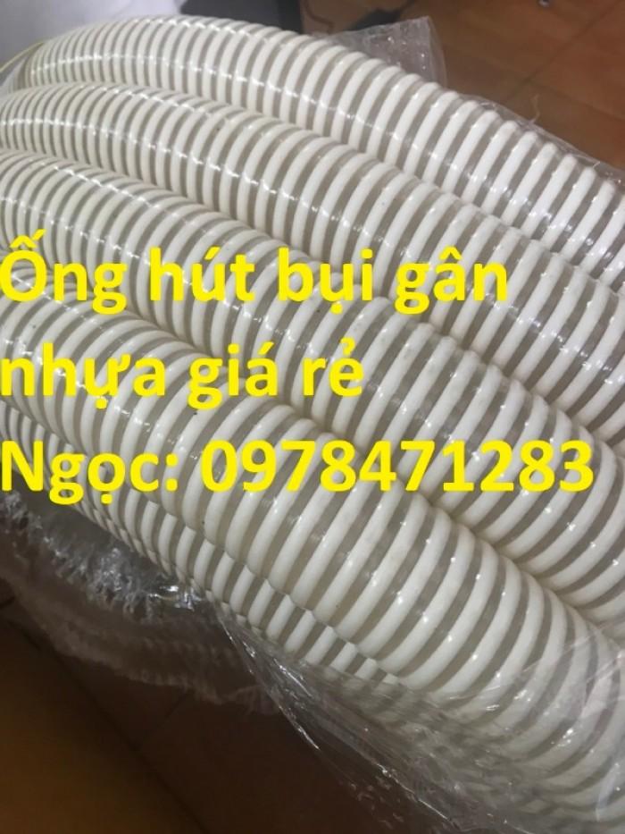 Ống gân nhựa trắng phi 100,phi 120,phi 150 hút hạt, hút bụi hàng sẵn giá rẻ8