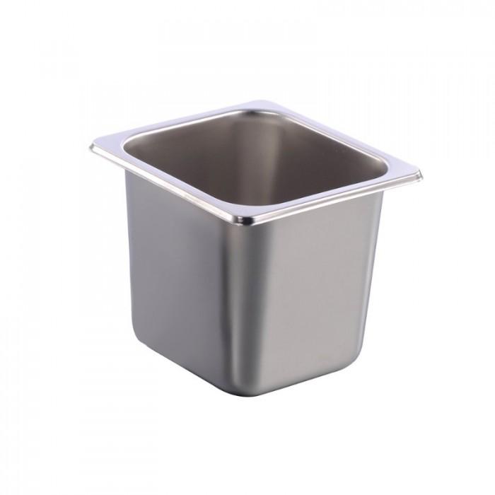 Khay inox đựng thạch trà sữa chè các loại3
