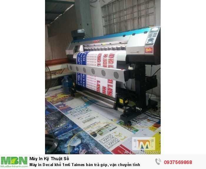 Nhà nhập khẩu chuyên phân phối Bán máy in decal 1m6 Taimes | Hotline: 0937 569 868 - Mr Quang