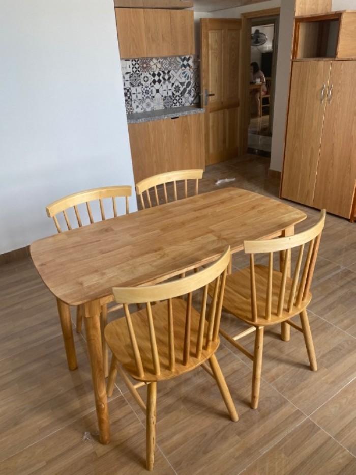 Bộ bàn ghế gỗ đẹp sang rẻ giá tại xưởng..3