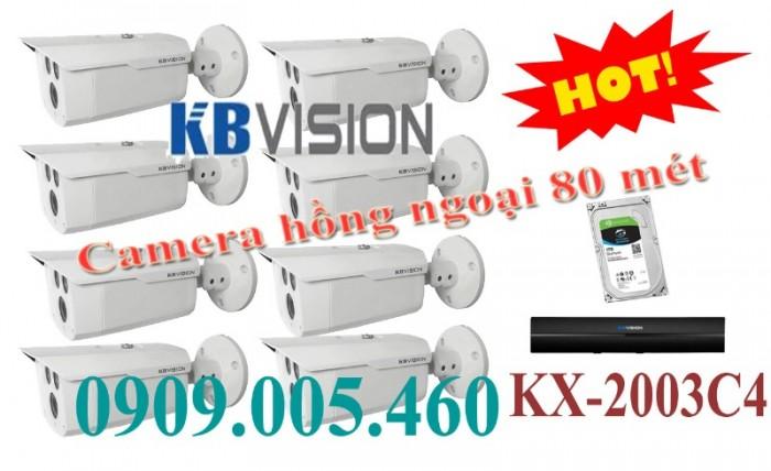 Camera quan sát hồng ngoai 80 mét kx-2003c40