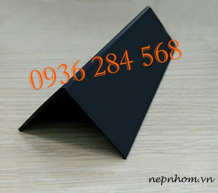 Nẹp nhựa V30mm màu đen 1