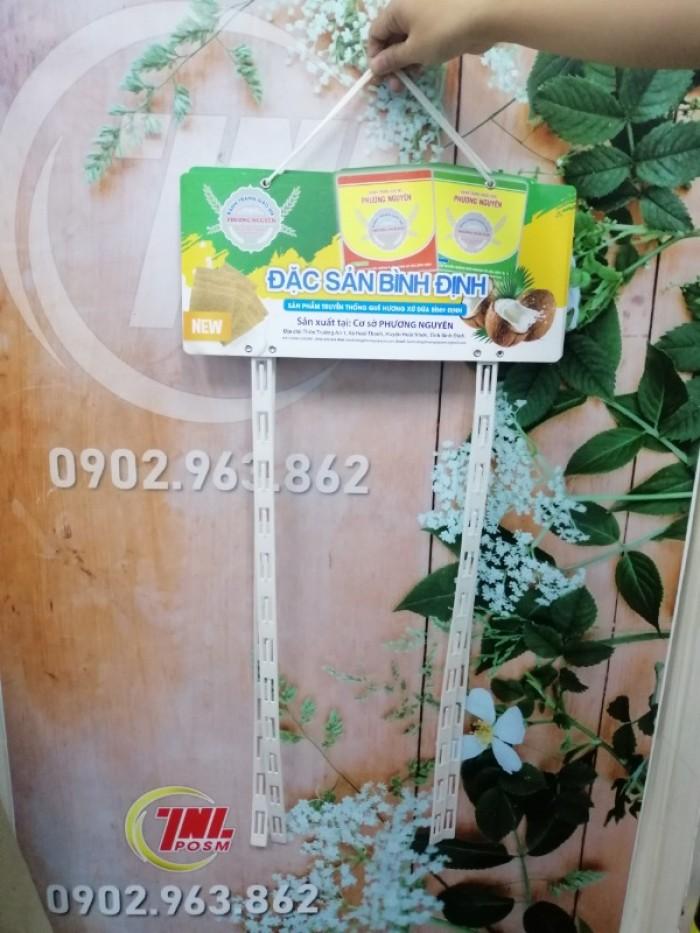 Hanger dây nhựa, vỉ treo quảng cáo sản phẩm2