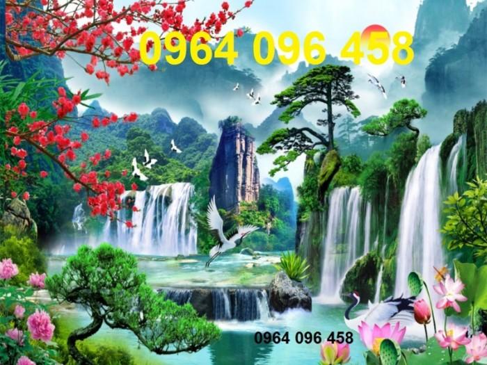 Tranh phong cảnh 3d thác nước5