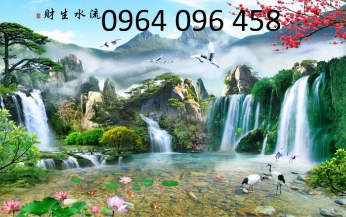 Tranh phong cảnh 3d thác nước6