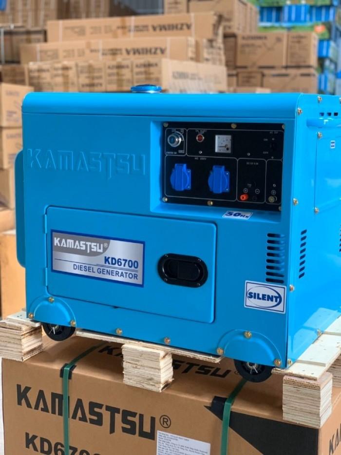 Máy phát điện kamastsu công suất 5kw KD67000