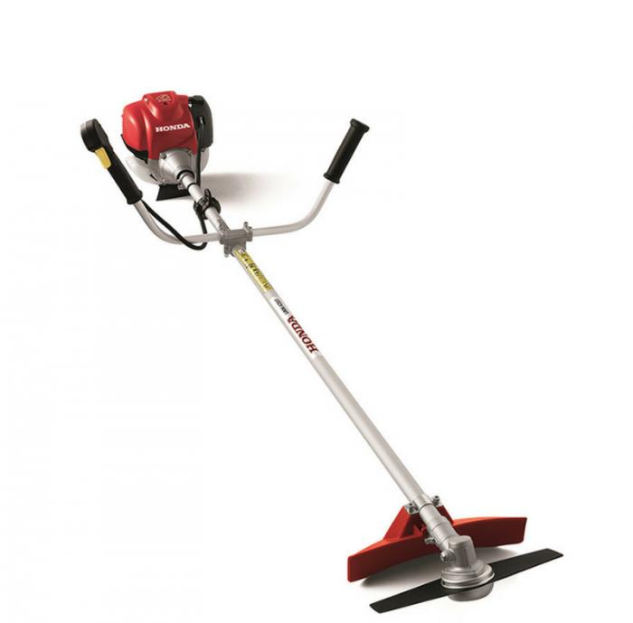 Máy cắt cỏ đeo vai dùng cắt cỏ vườn động cơ honda Gx350
