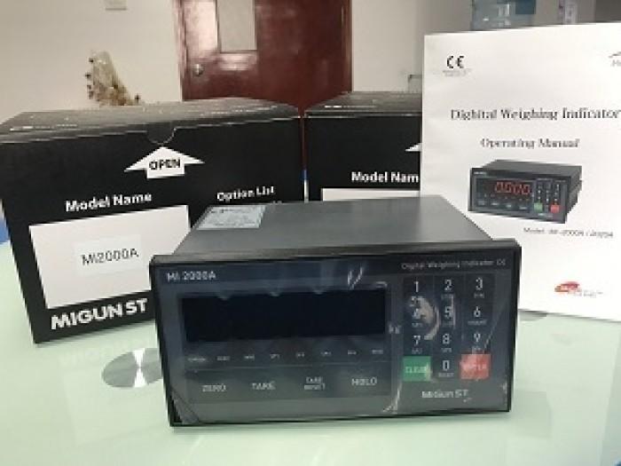 Đầu cân điện tử Migun MI2000A Sản xuất tại Hàn Quốc0