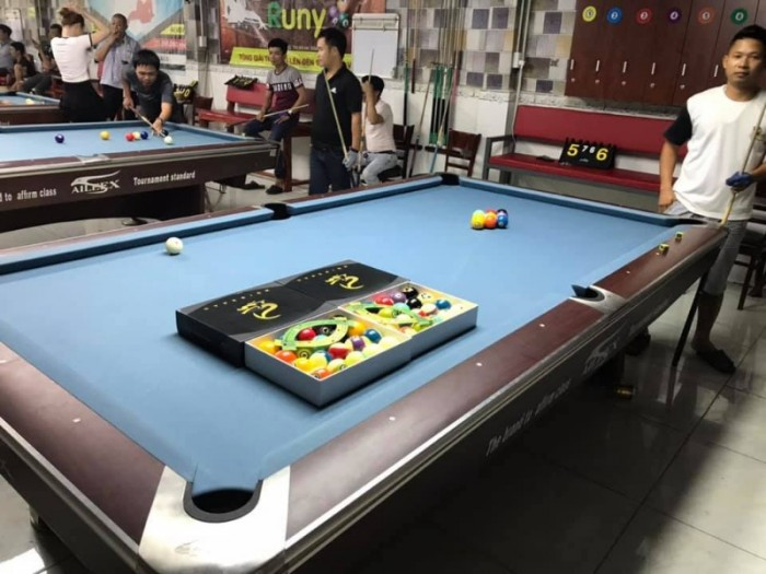 Mua Bàn bida phụ kiện bida gọi 0942 84 7777 billiards Ngọc Mỹ Sài Gòn 6