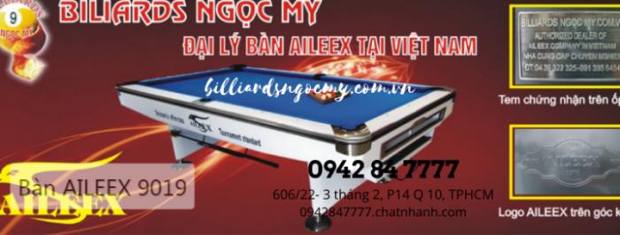 Mua Bàn bida phụ kiện bida gọi 0942 84 7777 billiards Ngọc Mỹ Sài Gòn 9