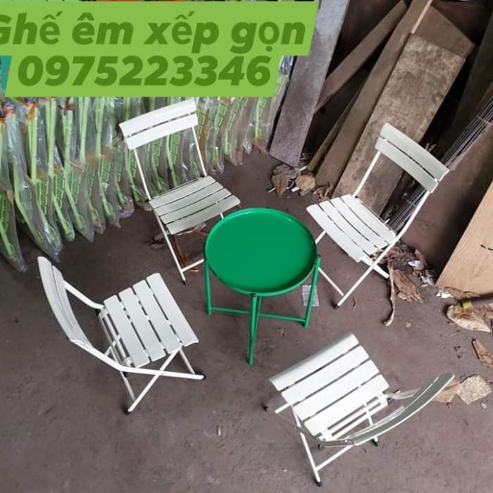 Bàn ghế  xếp mini.. nhiều màu1