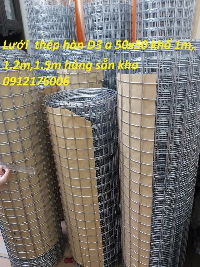 Lưới thép hàn mạ kẽm D3 ô 50 x5011